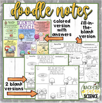 Scientific Models Squiggle Sheets and Understanding Checkpoint (NGSS)