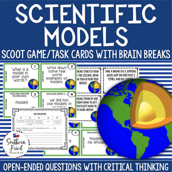 Science Models Scoot Game/Task Cards