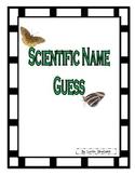 Scientific Names Guess