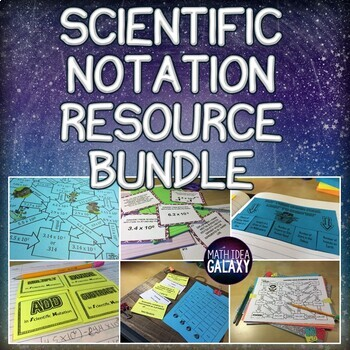 Scientific Notation Activities