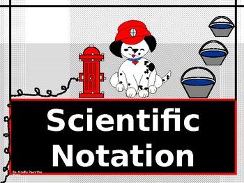 Algebra Power-Point:  Scientific Notation