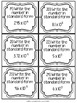 Scientific Notation: 30 Task Cards