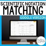 Scientific Notation Activity - Google Version