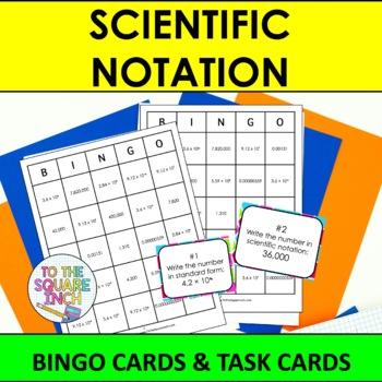 Scientific Notation Bingo