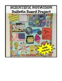Scientific Notation Bulletin Board Project with Rubric!