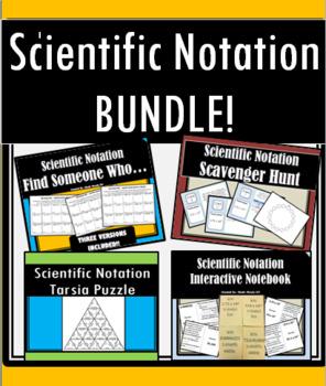 Scientific Notation Bundle!