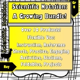 Scientific Notation Bundle: 7 Products