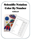 Scientific Notation Color by Number