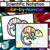Scientific Notation Color-by-Number