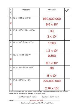 Scientific Notation Computation