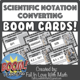 Scientific Notation - Converting Boom Cards!