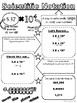 Scientific Notation Doodle Notes