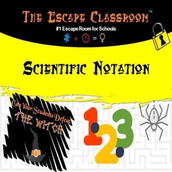 Scientific Notation Escape Room   The Escape Classroom