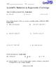 Scientific Notation & Exponents Challenge