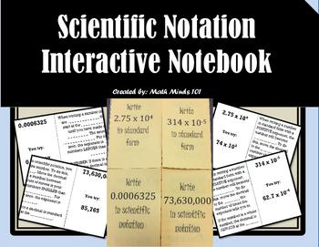 Scientific Notation Foldable