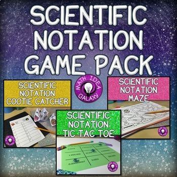 Scientific Notation Activities