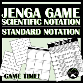 Scientific Notation Game with JENGA