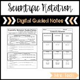 Scientific Notation Guided Notes - Digital