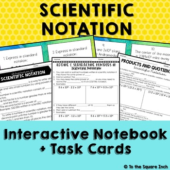 Scientific Notation Notes