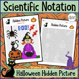 Scientific Notation Halloween (Color By Number)