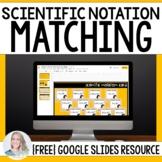 Scientific Notation Halloween Matching - Digital Activity