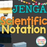 Scientific Notation Game Jenga