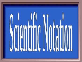 Scientific Notation Jeopardy Powerpoint