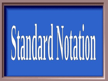 Scientific Notation Jeopardy Powerpoint