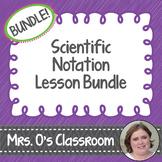 Scientific Notation Lesson Bundle