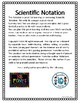 Scientific Notation Math Foldable