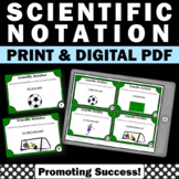 Scientific Notation Activity, 8th Grade Math Review Games with Task Cards
