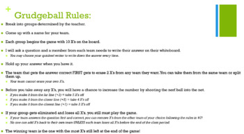 Scientific Notation, Metric Conversion REVIEW GAME for Physical Science