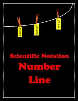 Scientific Notation Number Line