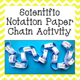 Scientific Notation Paper Chain Activity