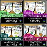Scientific Notation Math Pennants Bundle