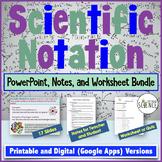 Scientific Notation Powerpoint Bundle