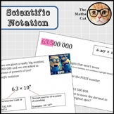 Scientific Notation Powerpoint with animations!