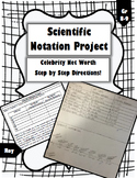 Scientific Notation Project: Celebrity Net Worth