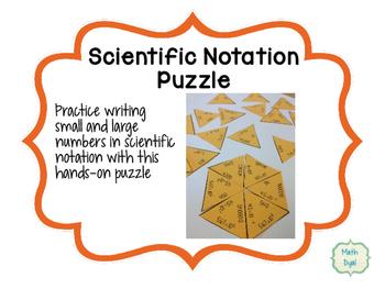 Scientific Notation Puzzle
