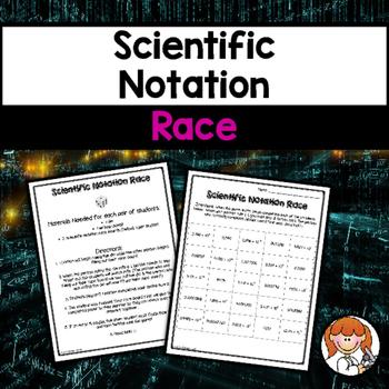 Scientific Notation Race