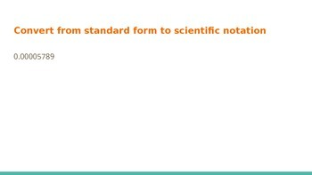 Scientific Notation Review PPT
