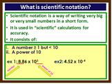 Scientific Notation, Scalars & Vectors, Graphical represen