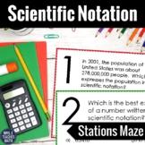 Scientific Notation Activity