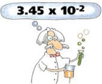 Scientific Notation Task