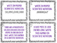 Scientific Notation Task Cards {Converting & Operations with}