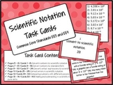 Scientific Notation Task Cards - Math Centers