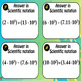 Scientific Notation Task Cards (Review)