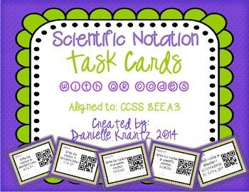Scientific Notation 8.EE