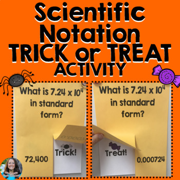 Scientific Notation Trick or Treat Game