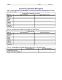 Scientific Notation Webquest